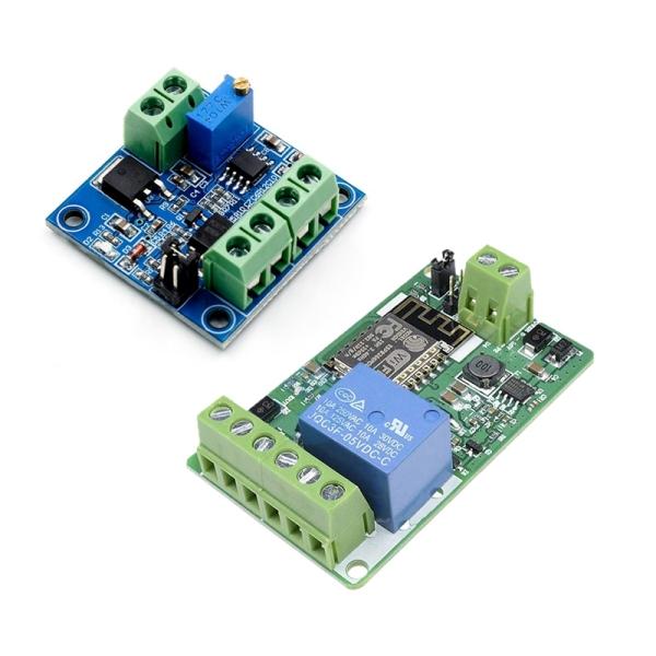 Bảng giá 1 Pcs PWM To Voltage Converter Module & 1 Pcs ESP8266 Relay Module 10A 220V Network Relay Phong Vũ