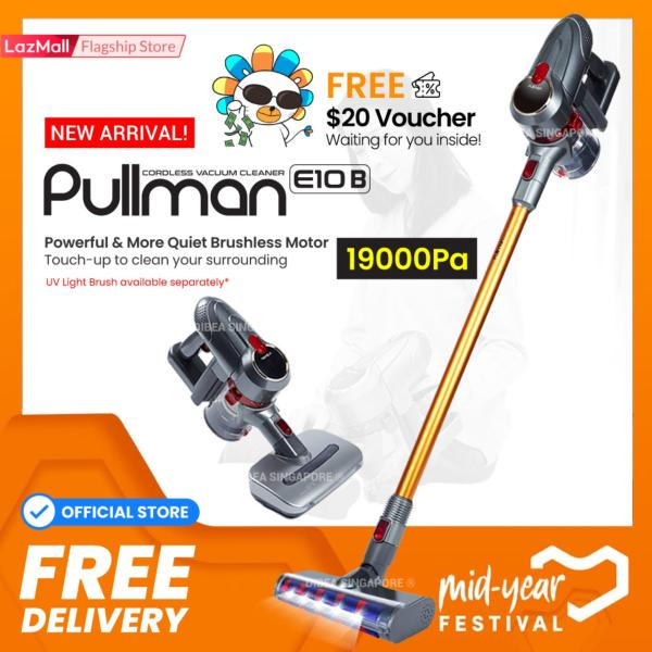 PULLMAN Oktopus E10B Cordless Vacuum Cleaner Handheld Stick  Safety Mark Local Warranty Official Set  Ranked above Mop Xiaomi Ecovacs powerbank  Suitable for car dress cleaning Fast delivery  Ready Stocks Singapore