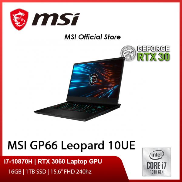 MSI GP66 Leopard 10UG (i7-10870H/16GB/1TB SSD/NVIDIA RTX 3070 6GB GDDR6/15.6FHD 240Hz/W10)-(2Y)