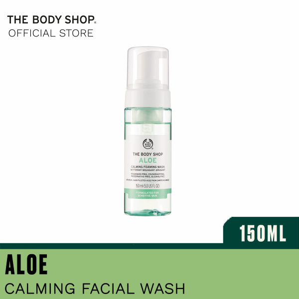 Buy The Body Shop Aloe Calming Foaming Wash (150ML) Singapore