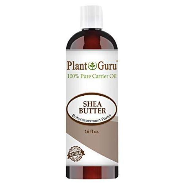 Buy Plant Guru African Shea Butter Oil 16 oz. 100% Pure Natural Skin, Body And Hair Moisturizer. DIY Butters, Lotion, Cream, lip Balm & Soap Making Supplies, Eczema & Psoriasis Aid, Stretch Mark Product. Singapore