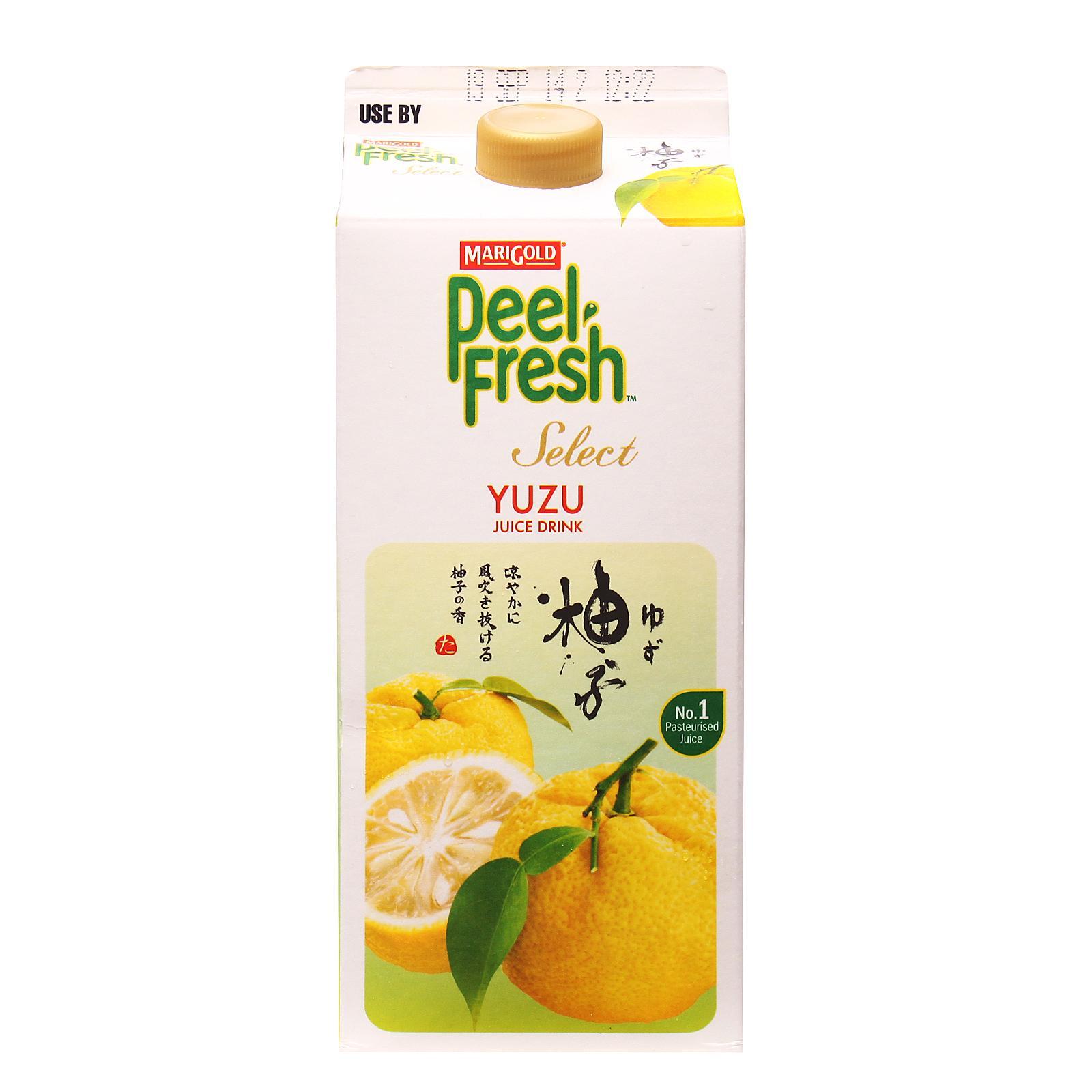 Marigold Peel Fresh Select Juice Drink - Yuzu By Redmart.