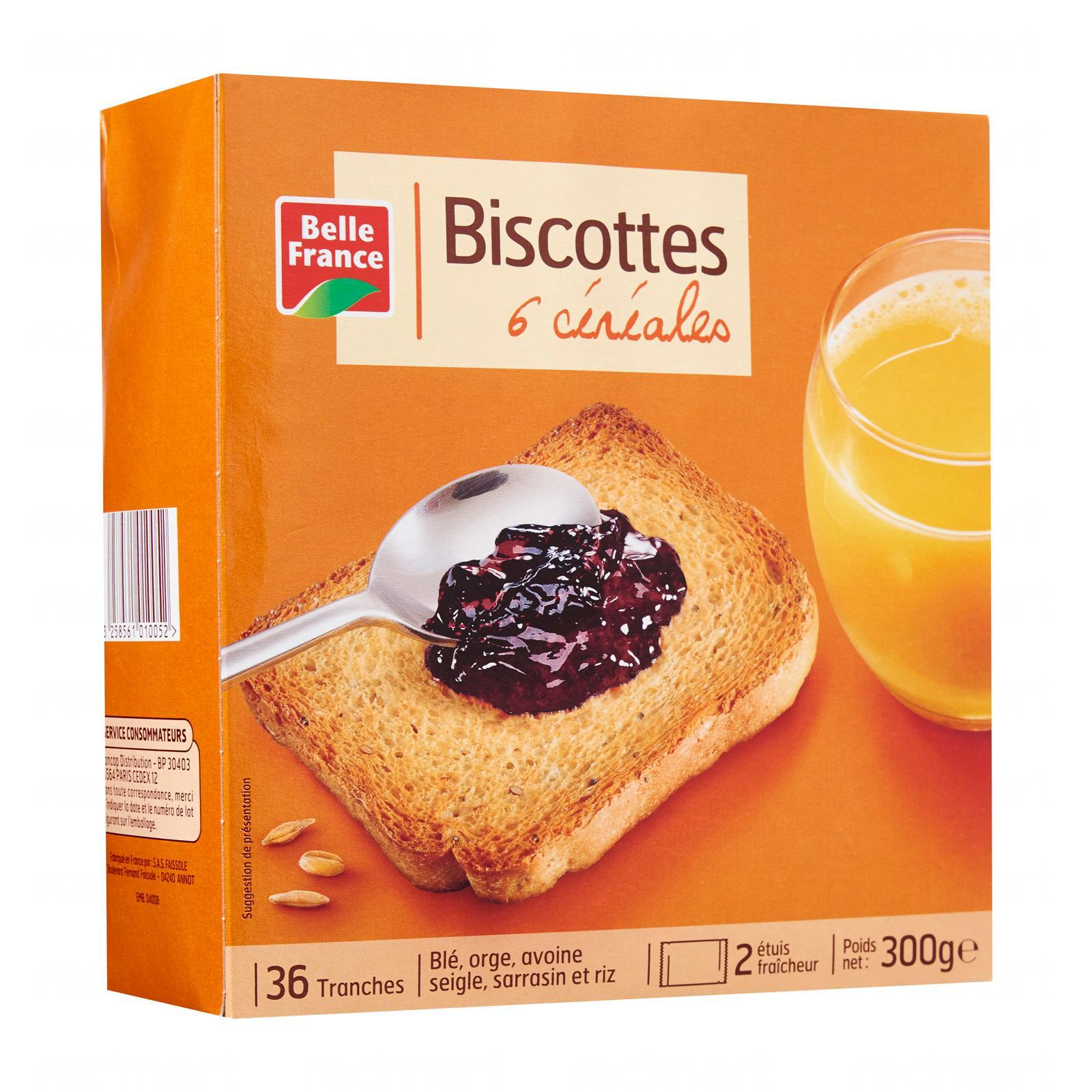 Belle France Multicereals Rusk - By Le Petit Depot By Redmart.