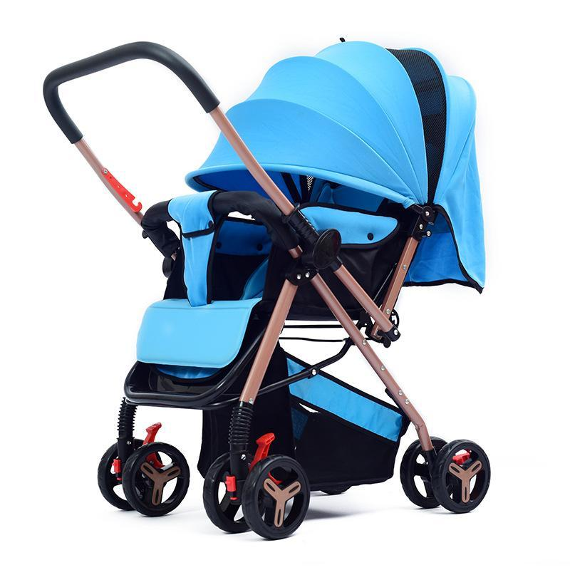 Ggx Huaying Baby Stroller Lightweight Folding Can Be a Armchair Baby Newborn Children Push Buggy Two-Way Stroller Singapore