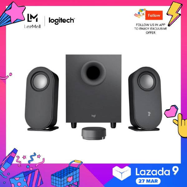 Logitech Z407 Bluetooth 2.1 Speaker with Wireless Control Pod