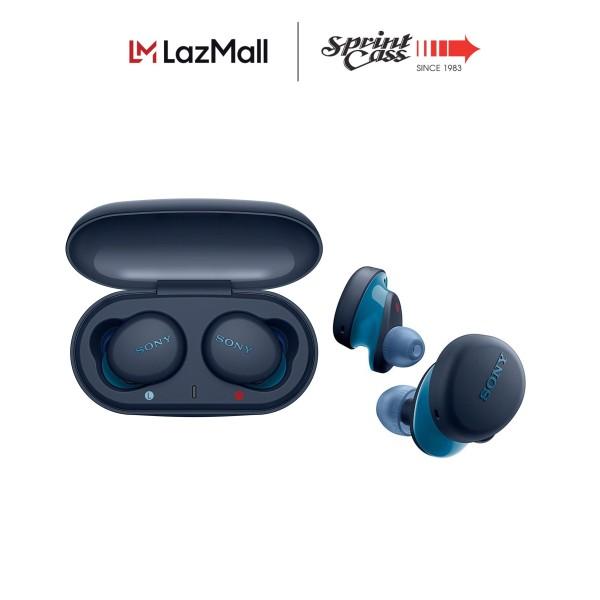 Sony Singapore WF-XB700/ WFXB700 Truly Wireless Headphones with EXTRA BASS (Black/Blue) Singapore