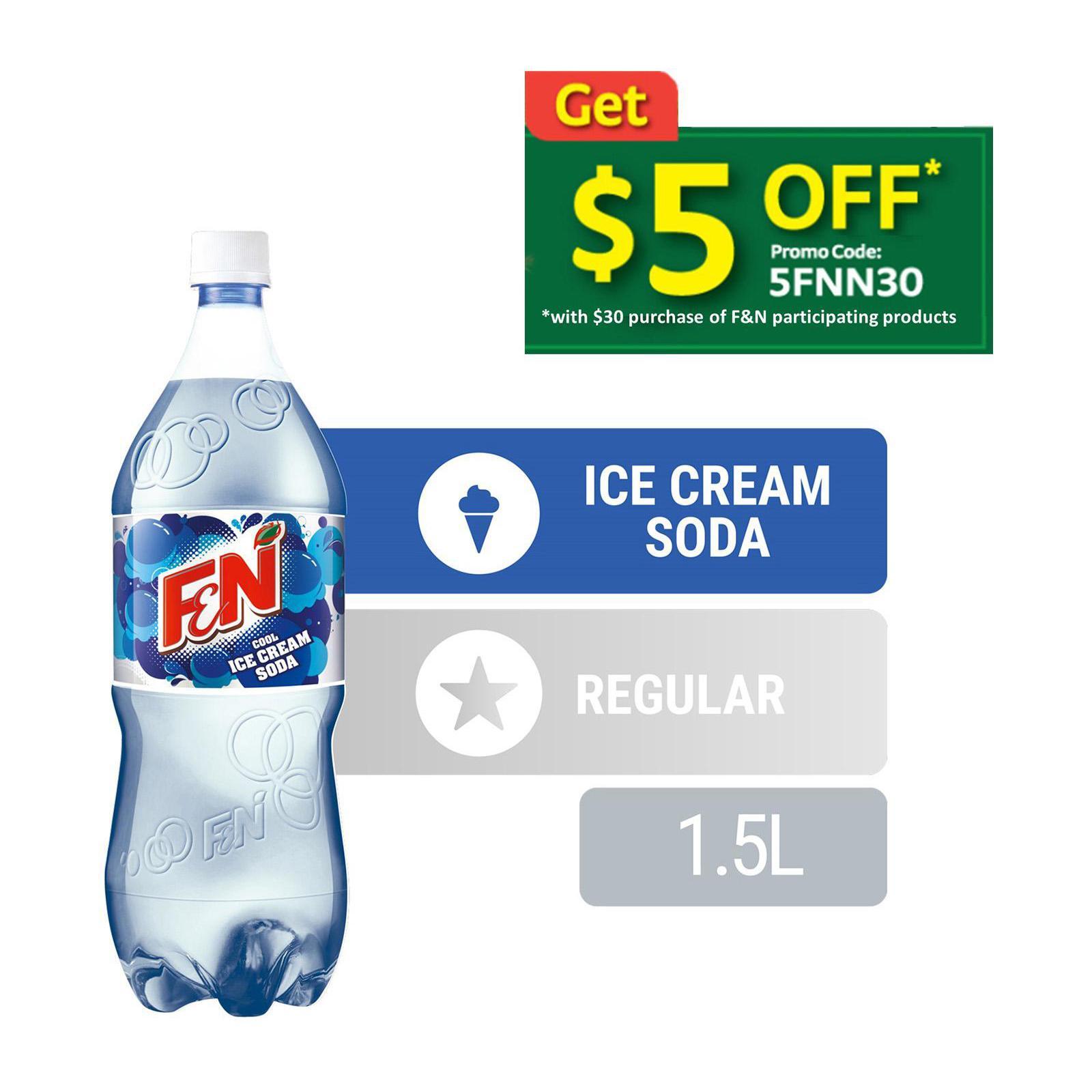 F&N Cool Ice Cream Soda Sparkling Flavoured Drink