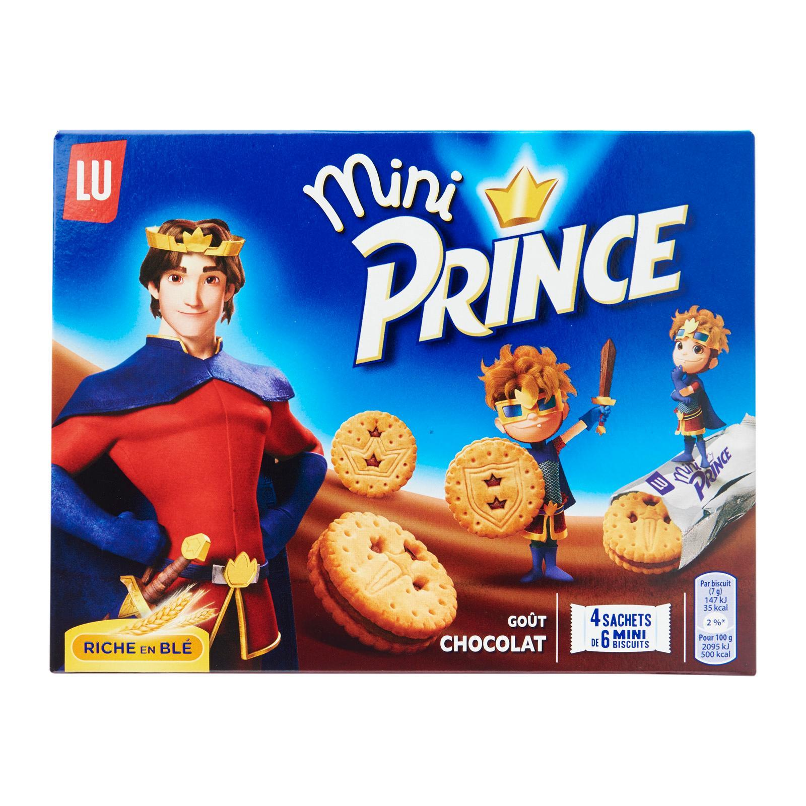 LU Prince Mini Chocolate Biscuits