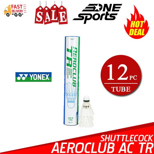 Yonex Aeroclub High Quality Feather Badminton Shuttlecocks Acb-Tr (training) By One Sports.