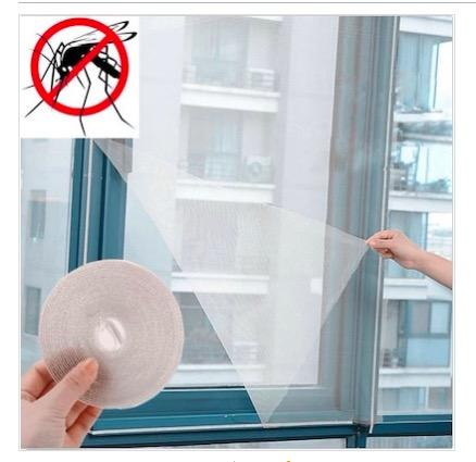 Mosquito Net with Velcro Tape - Netting Window Screen Insect Repellent Fly Bug Mosquito