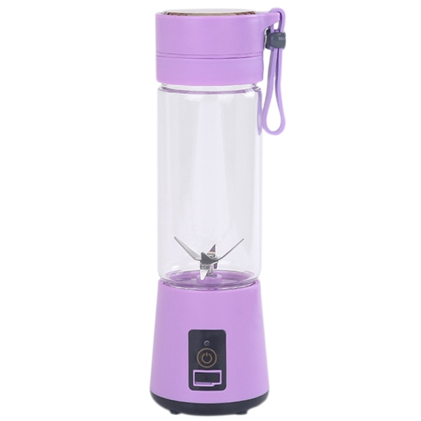Bảng giá 420Ml Portable Juicer Glass Bottle Juicer USB Rechargeable 6 Blades Juicer Smoothie Blender Machine Mixer Mini Juice Cup Điện máy Pico