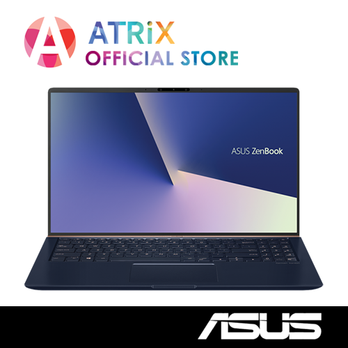 ASUS Zenbook UX533FTC-A8172T(WiFi 6) | 15.6 FHD | i7-10510U | 16GB RAM | 512GB PCIe SSD | GTX1650-4GB | 2Yr ASUS International Warranty | Ready Stock,Ship Today
