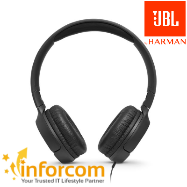 【BEST BUY PROMO】JBL TUNE 500 Wired 3.5mm On-ear Headphones with Built-in Microphone Hands Free Call Pure Bass T500 Foldable Headset Airplane Earpiece Singapore