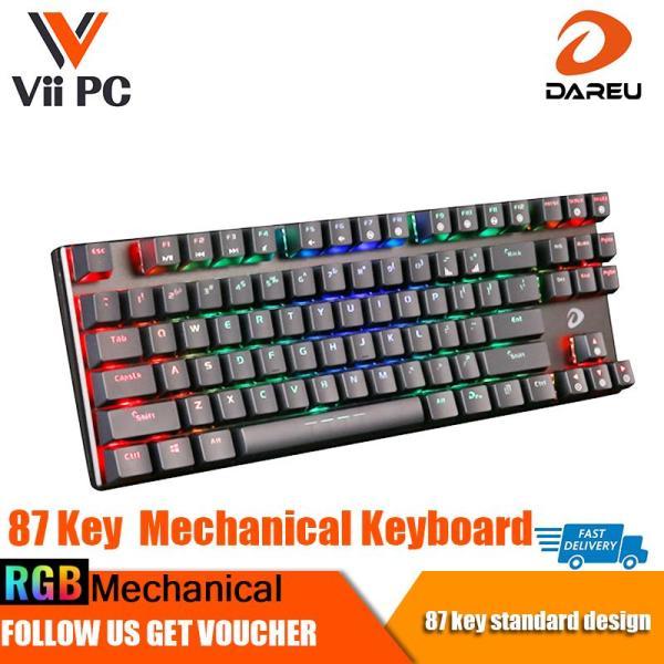 Dareu EK880 RGB 87 Key Mechanical Gaming Keyboard Singapore Local Reseller, 1 Year 1 to 1 Exchange Warranty