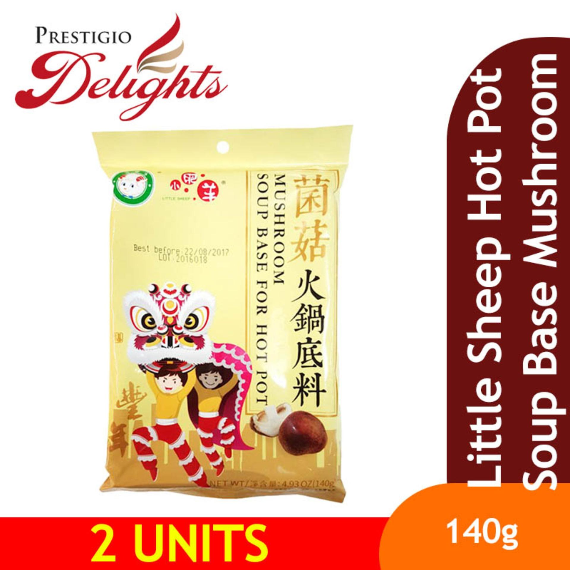 Little Sheep Hot Pot Soup Base Mushroom 140g Bundle Of 2 By Prestigio Delights.