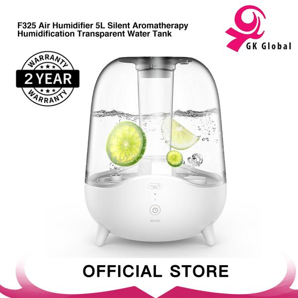 Xiaomi Deerma F325/F329 Ultrasonic Cool Mist Humidifier 5L Silent Aromatherapy Diffuser Transparent Water Tank Singapore