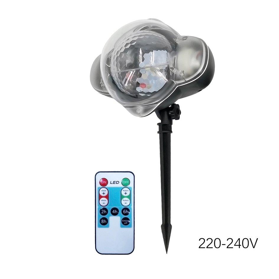 ANEXT Snowflake Laser Light IP65 Moving Snow Outdoor Garden Laser Projector Lamp