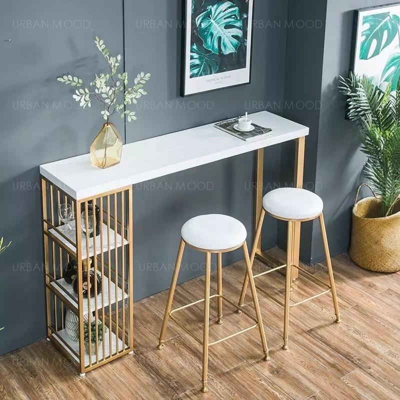 CRUZ Modern Contemporary Bar Table & Stool