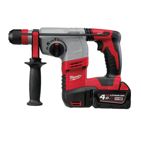 MILWAUKEE M18 3-Mode SDS-Plus Hammer Drill with Fixtec Chuck Kit HD18HX