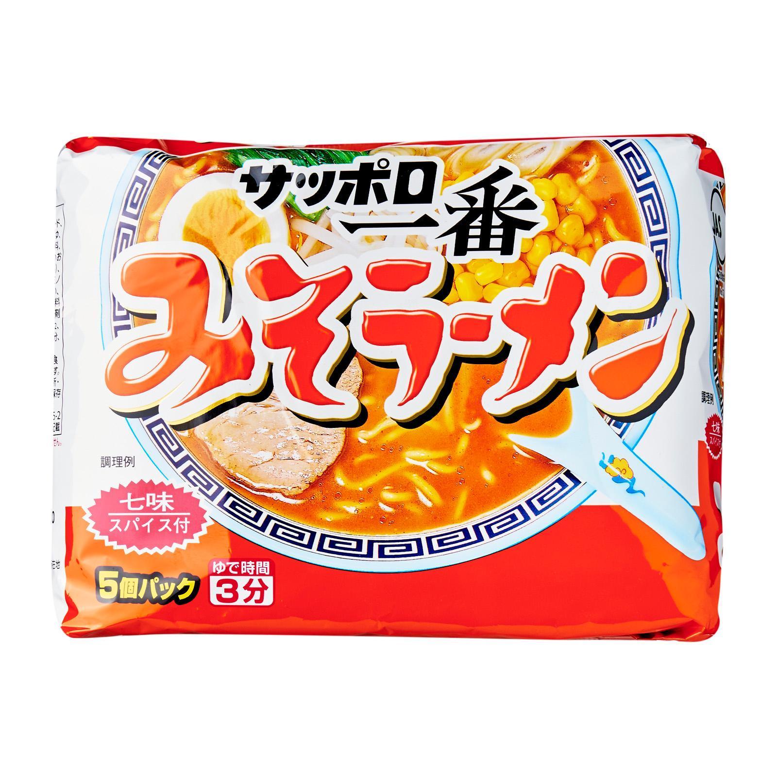 Sapporo Ichiban Miso Ramen Instant Ramen Noodles