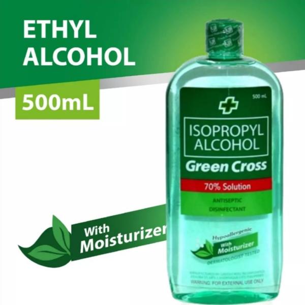 Buy (BUNDLE of 3)  Green Cross Isopropyl Alcohol 70% with Moisturiser 500ml Singapore