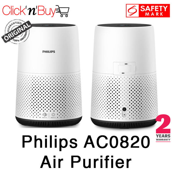 9.9 Sale Philips AC0820 Air Purifier. Beat the Haze. Removes 99.5% of particles as small as 0.003um. Safety Mark Approved. 2 Years Warranty. Singapore