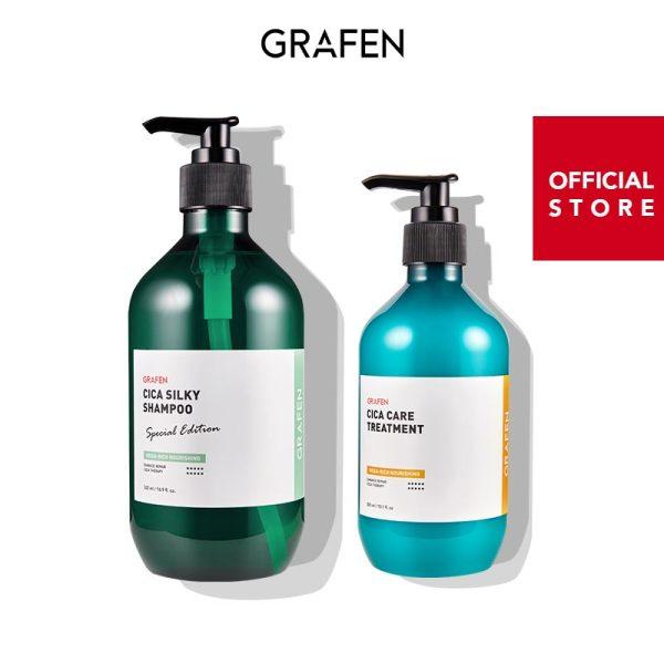 Buy [GRAFEN] [Bundle of 2] Intensive Damage Hair Care Set Singapore