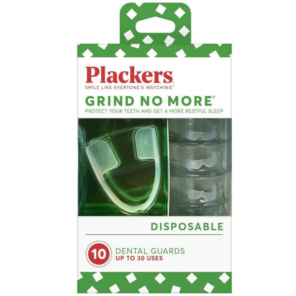 Buy Plackers Grind No More Dental Night Guard for Teeth Grinding , Bruxism - Mouth Guard -  10 Count Singapore