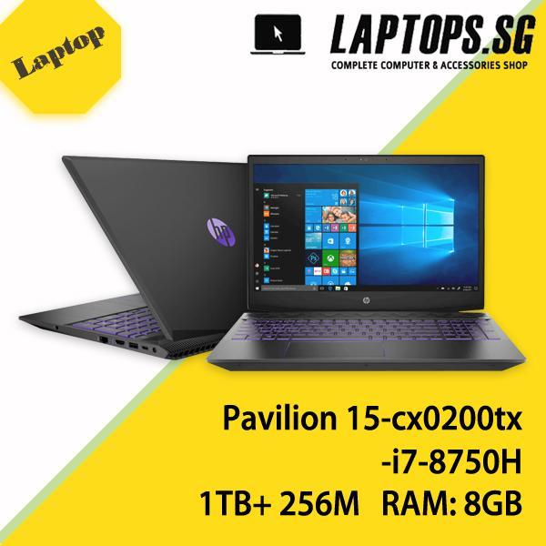 HP Gaming Pavilion 15-cx0200tx i7-8750H 8GB 1TB+256M.2 SSD 15 In GTX1050Ti WIN10