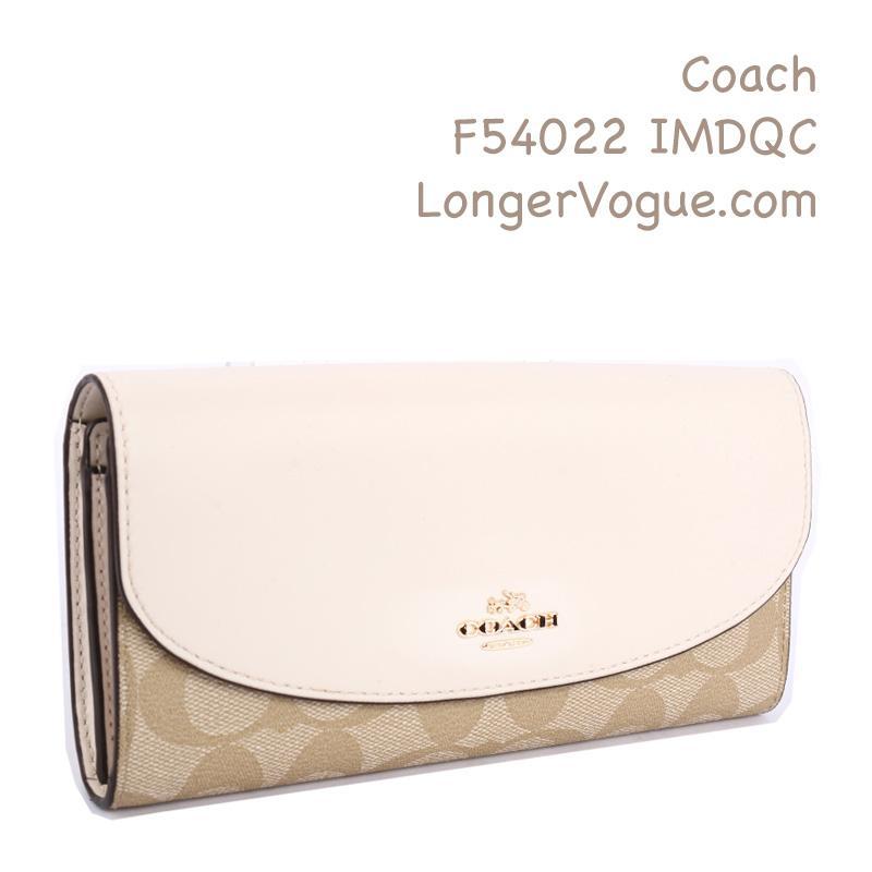 Coach long wallet outlet Coach purse slim envelope Inn cross grain pebble  leather lady checkbook wallet d5564d3ab091f