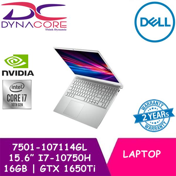 DYNACORE - DELL Inspiron 15 7500 2020 Model | 7501-107114GL 15.6 IN INTEL CORE I7-10750H | 16GB | 1TB SSD | GTX1650Ti | WIN 10 | Dell Gaming Laptop