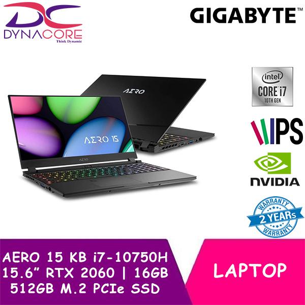 DYNACORE - GIGABYTE AERO 15 KB i7-10750H/ NVIDIA® GeForce RTX™ 2060 6GB/16GB Samsung®️ DDR4 2933MHz (8GB*2)/512GB M.2 PCIe SSD/3mm Ultra-thin Bezel + X-Rite™ Pantone® Certified Display/WIN 10 HOME/15.6Inch LG 144Hz FHD IPS Panel/ w/BAG+MOUSE