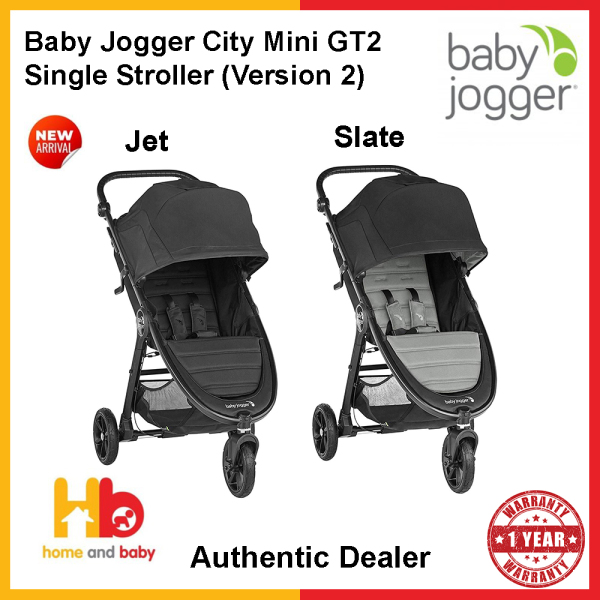 Baby Jogger City Mini GT2 Single Stroller (Version 2) (1 Year Warranty) Singapore