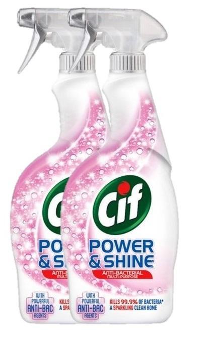 Cif Power Shine Anti-Bacterial Multi-Purpose Cleaner 700ml (2pcs) By Pd Tech.