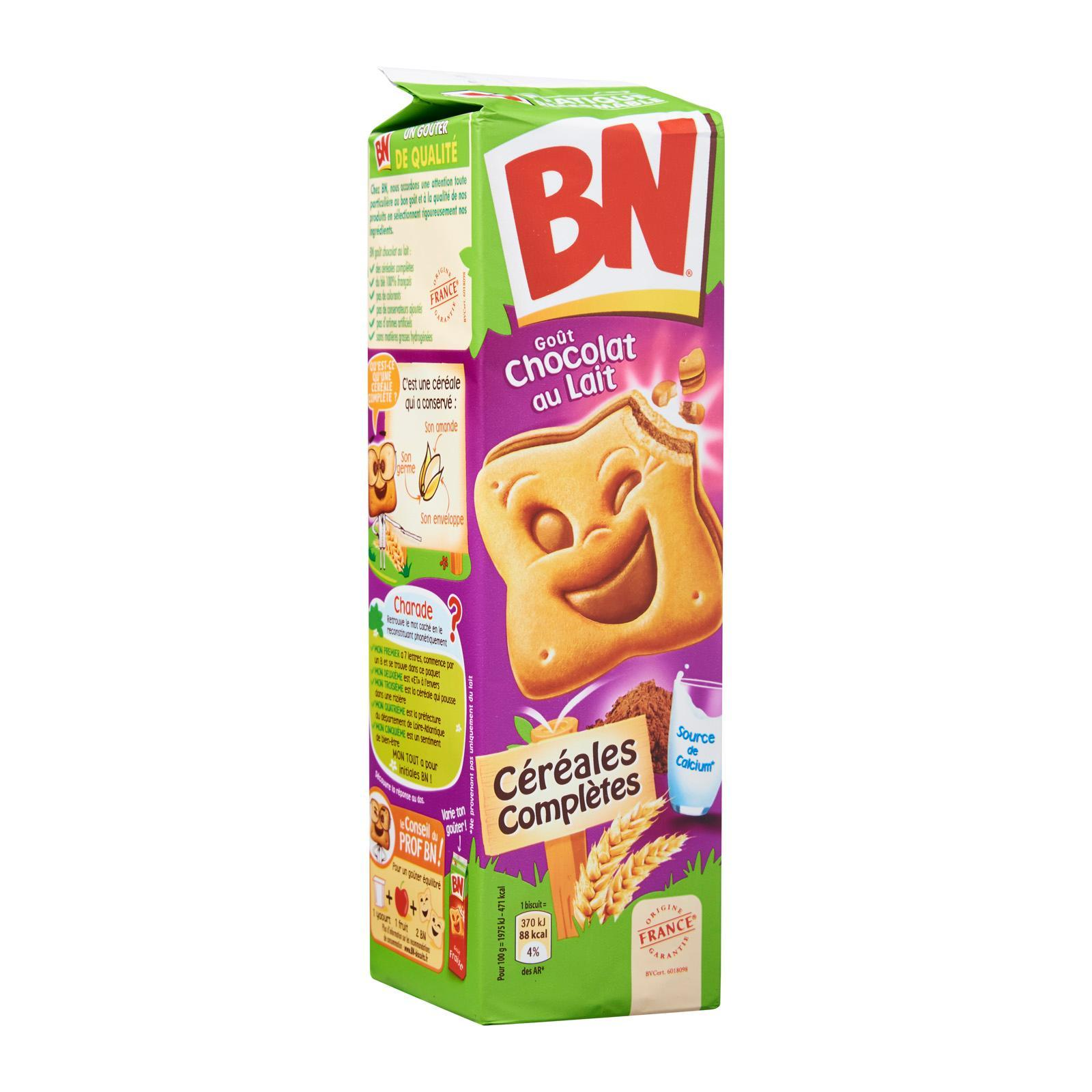 BN Milk Chocolate Flavour Sandwich Biscuits