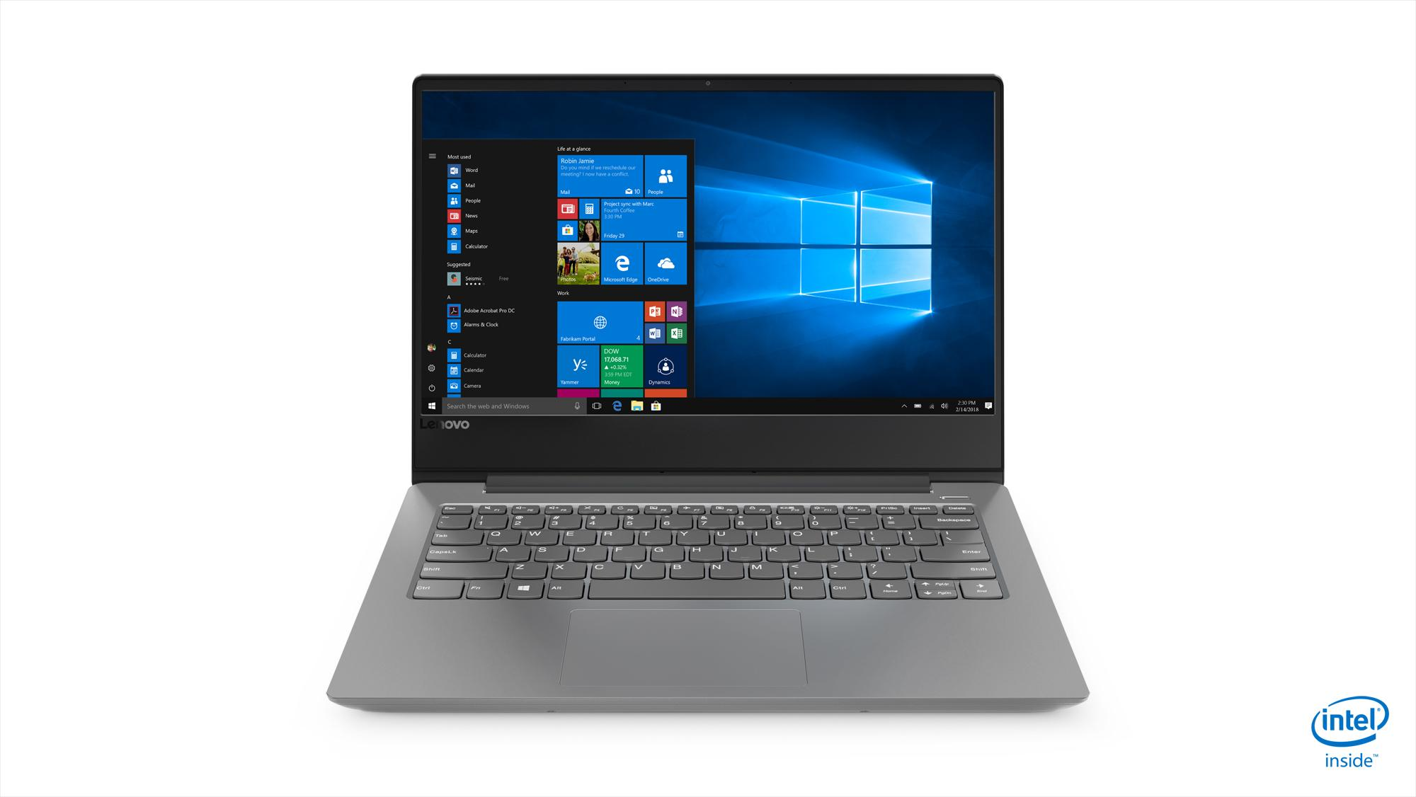 Lenovo Ultraslim Ideapad 330S 14 i5-8250U 8GB Platinum Grey (81F4019XSB)