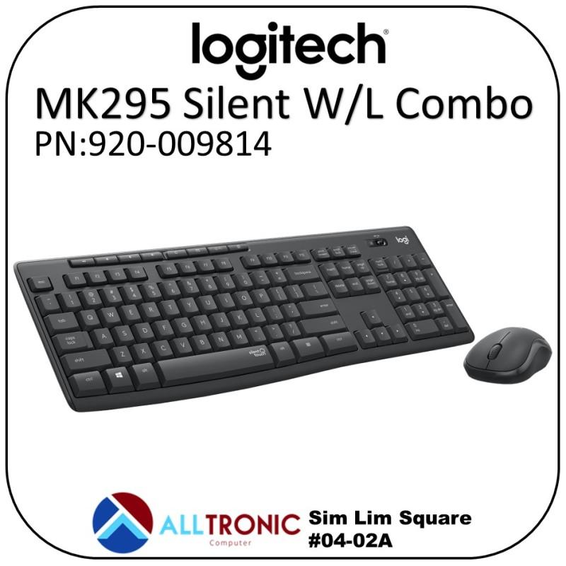 Logitech Mk295 Silent Wireless Combo Keyboard and Mouse 920-009814 Singapore