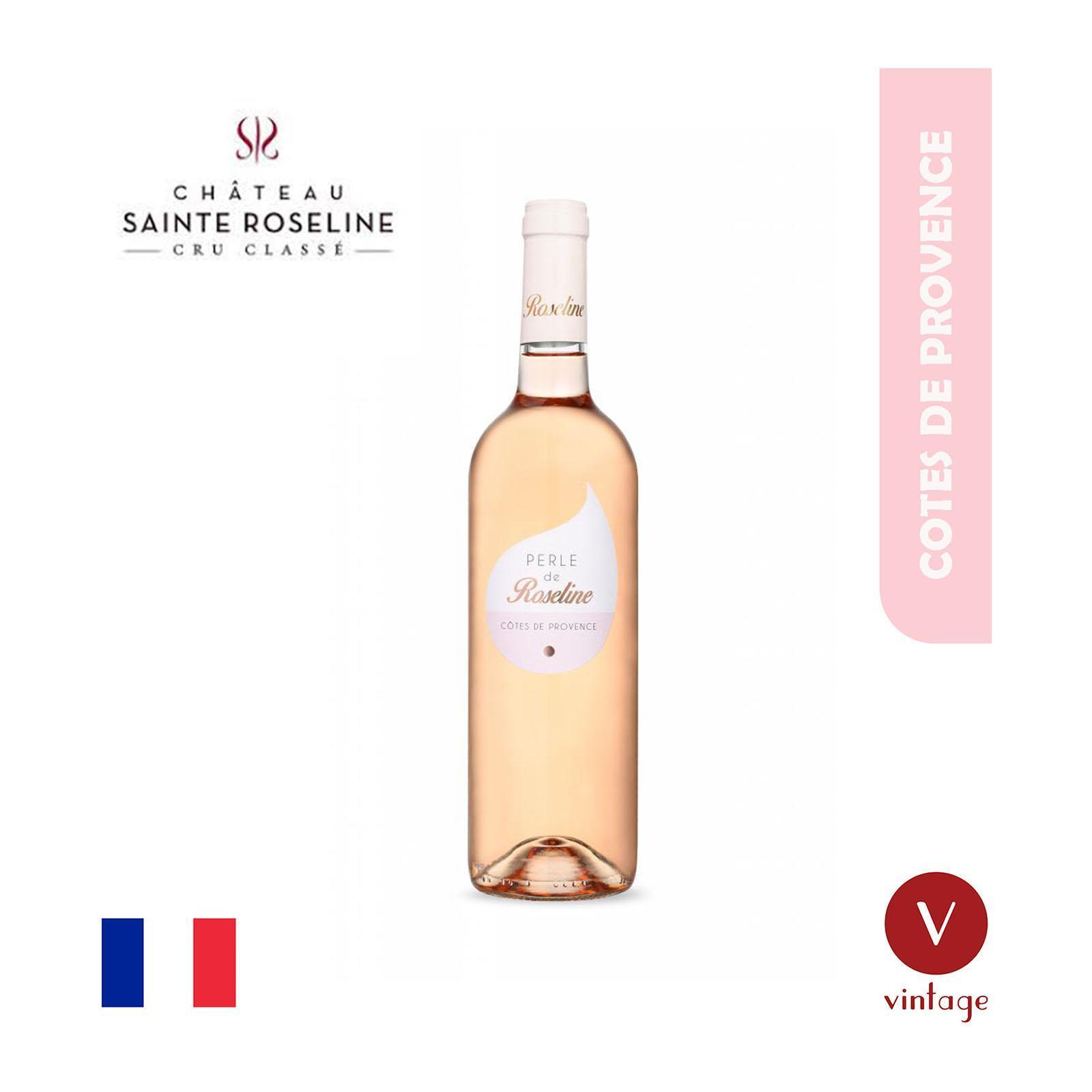 Chateau Sainte Roseline Perle de Roseline - Cotes de Provence - Rose Wine