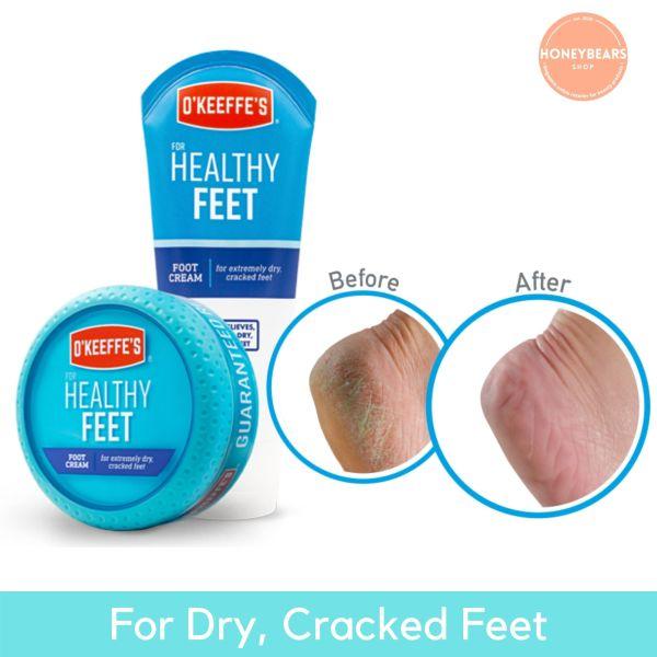 Buy OKeeffes Healthy Feet Foot Cream Jar & Tube Singapore