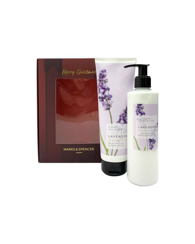 Buy M&S Lavender Shower & Lotion Set Singapore
