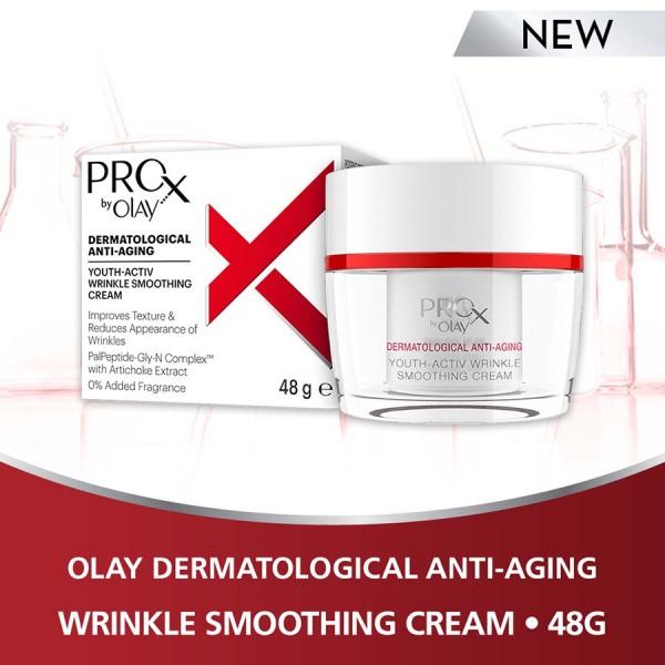Buy Olay Pro-X Youth-Activ Wrinkle Smoothing Cream 48g Singapore