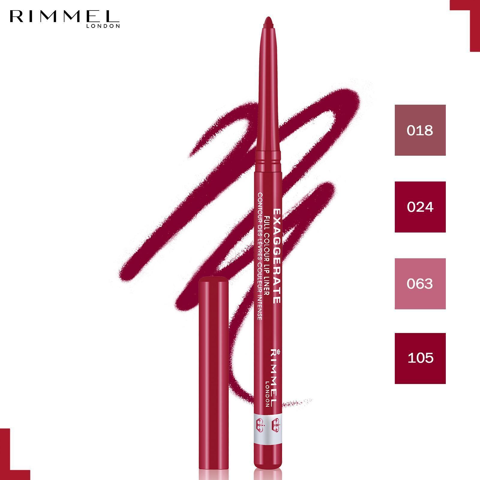 Rimmel Exaggerate Lip Liner 024- Red Diva