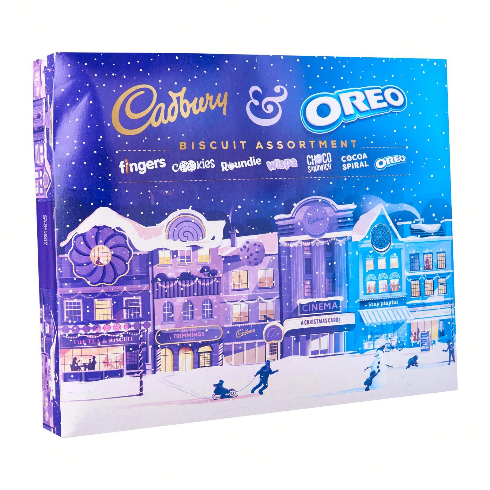CADBURY Chocolate And Oreo Biscuits Assortment - Christmas Special