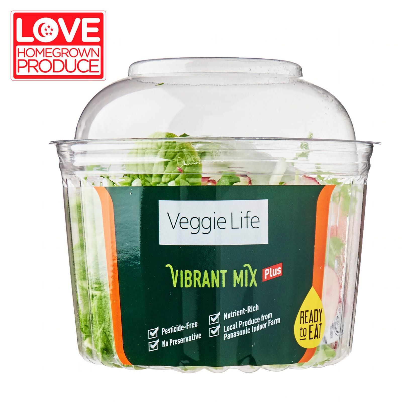 Veggie Life Vibrant Plus RTE Salad Mix