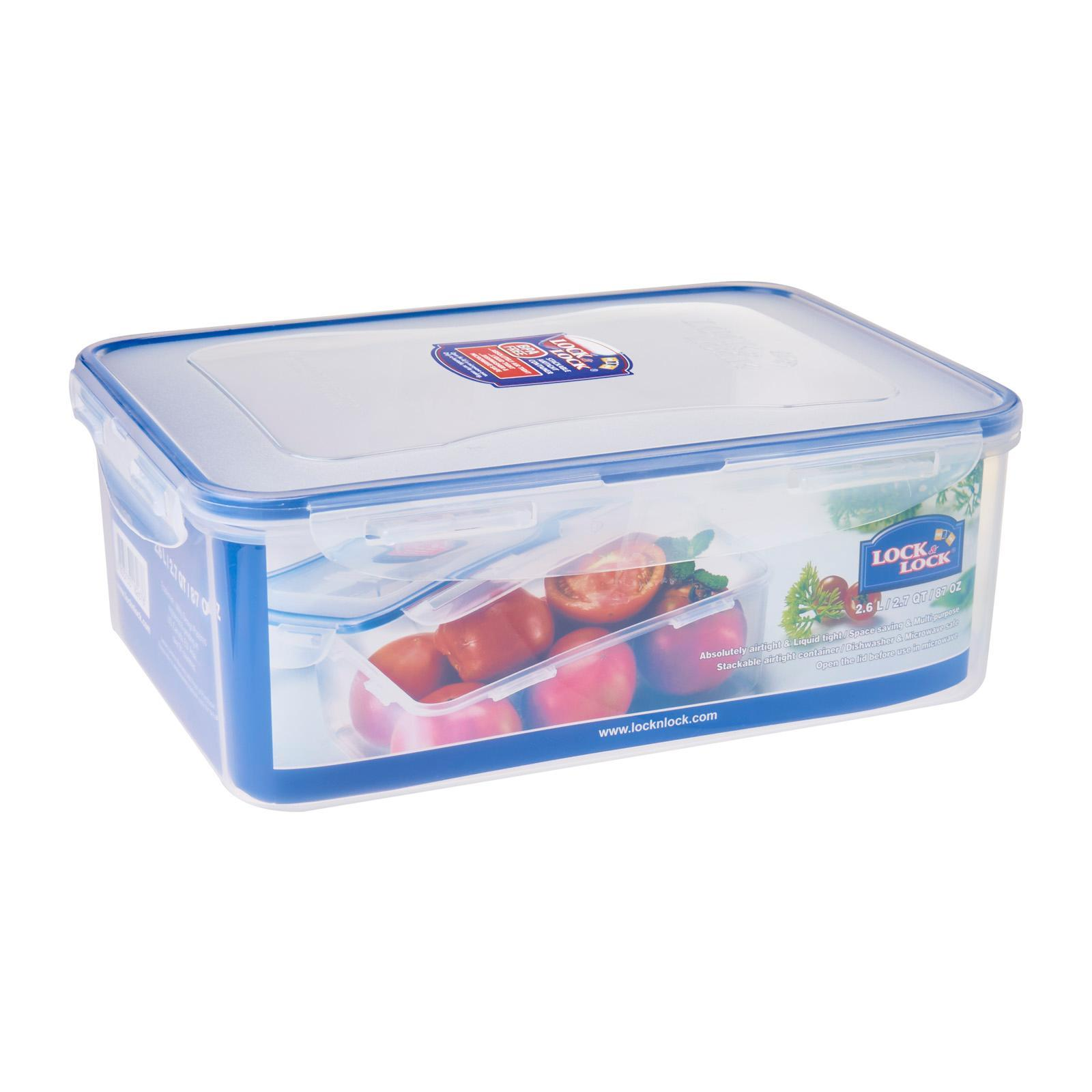 Lock & Lock Rectangular Classic Food Container 2.6L