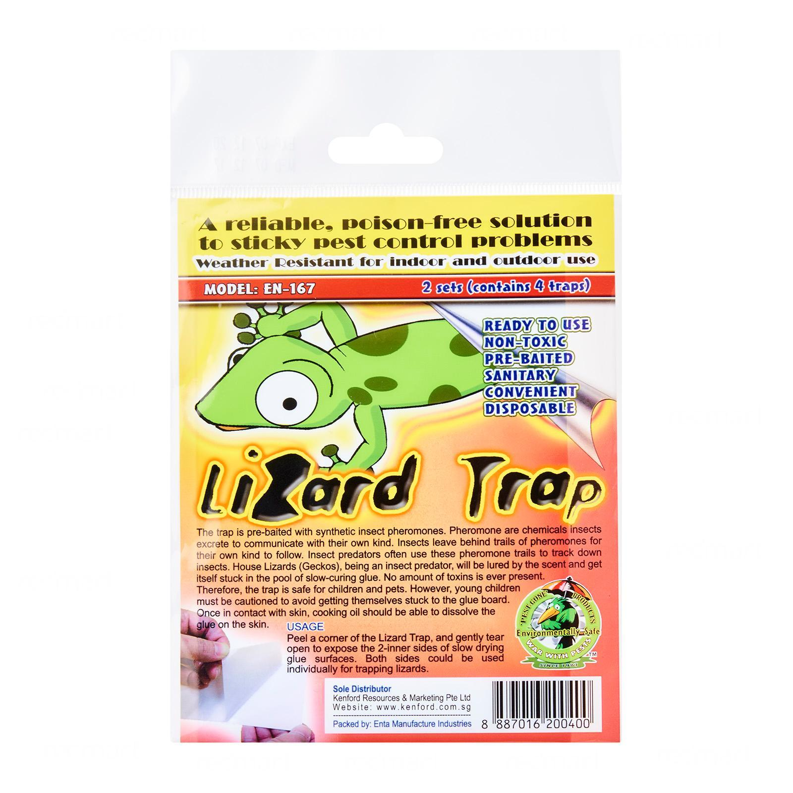 Dpk Lizard Trap By Redmart.