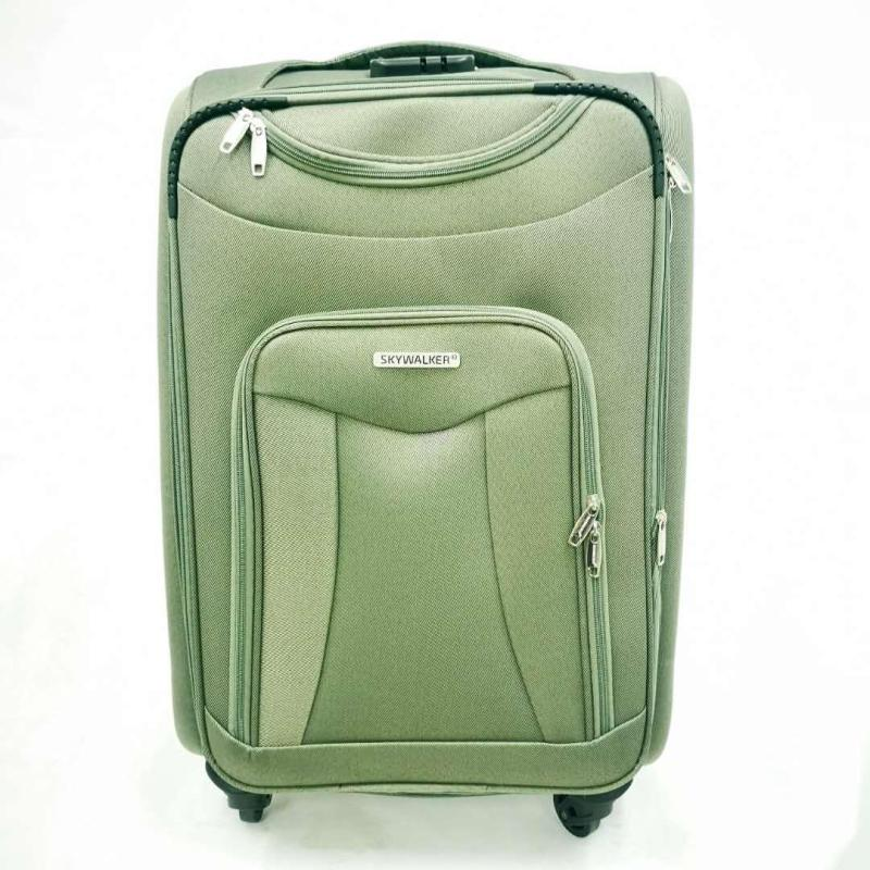 Skywalker Soft Touch 2 Plain Luggage 20 Inch