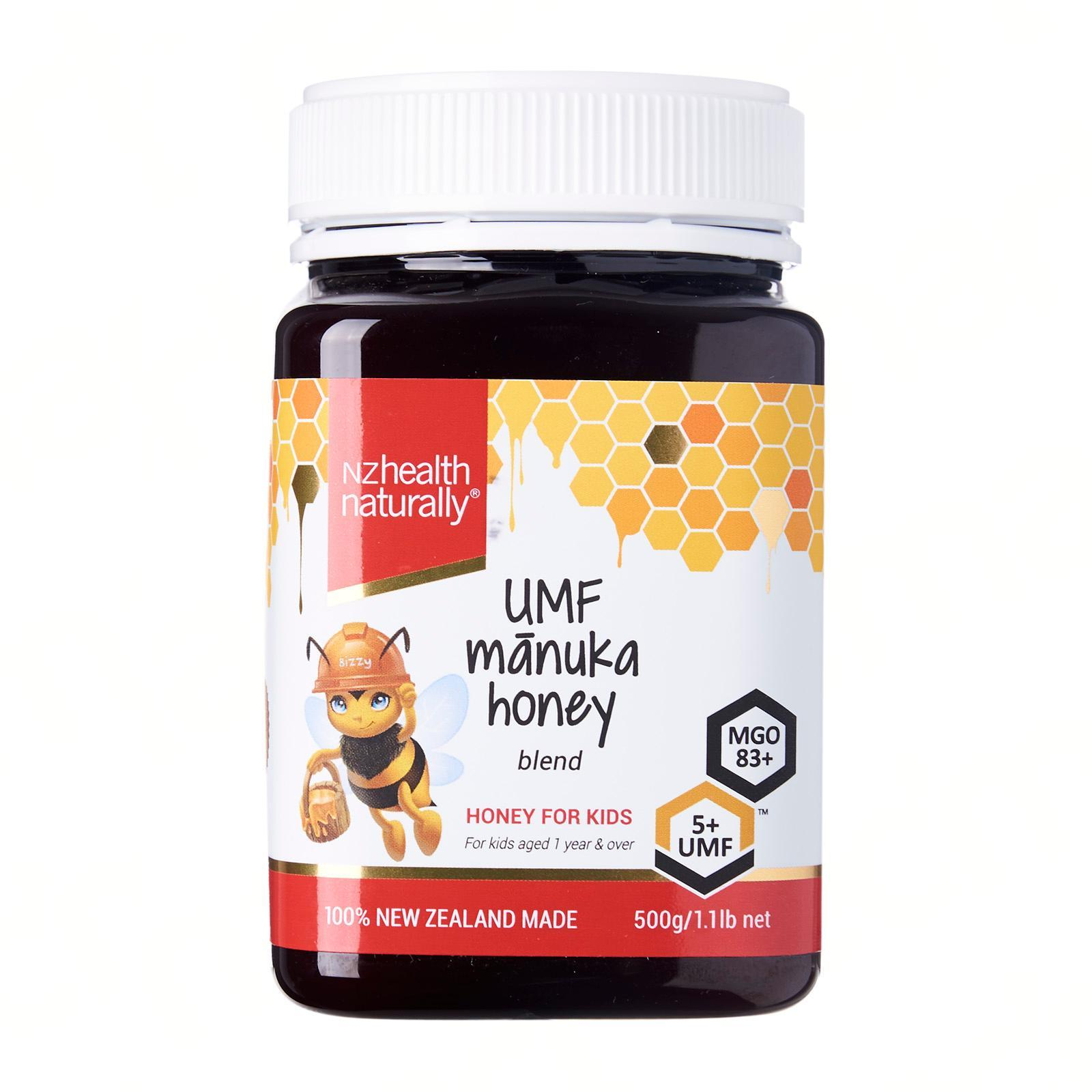 NZ Health Naturally Manuka Honey for Kids UMF 5+