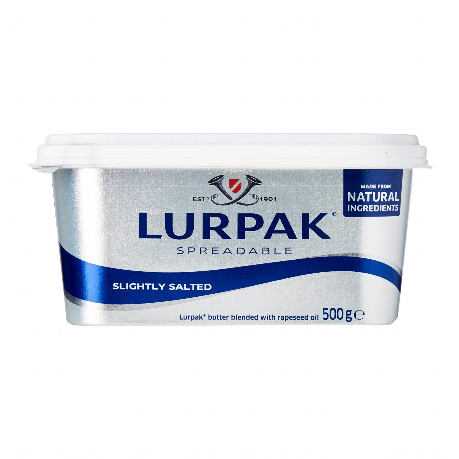LURPAK Spreadable Butter Slightly Salted 500g