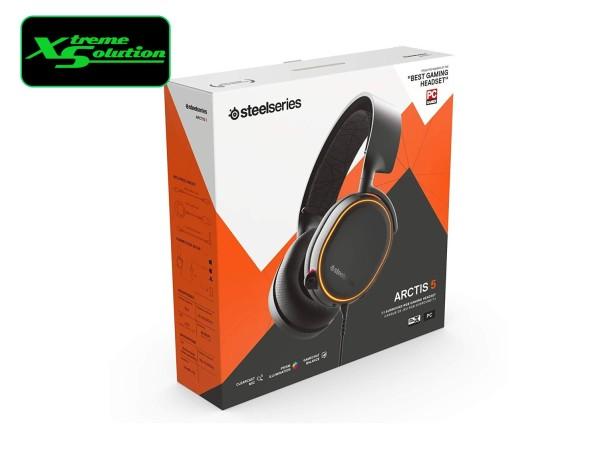 Steelseries Arctis 5 2019 Edition Gaming Headset (Black / White)